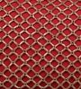 Solaj Red Cotton 12 x 18 Inch Embroidery Cushion Cover