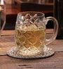 Solitaire Crystal Beer Mug BM-601(L)21Oz-Tudor