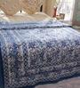 Soma Blues Nature & Florals Cotton Single Size Quilt 1 Pc