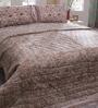 Soma Grays Nature & Florals Cotton Queen Size Quilt 1 Pc