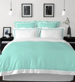Aqua 100% Cotton Hygro King Bed Sheet Set