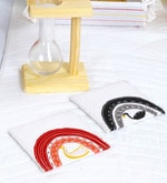 Spiral Kitchen Swan Mojo Quilt Multicolour Cotton Coasters - Set of 6
