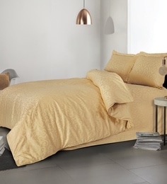 Spread Golden 100% Cotton Double Size Duvet Cover