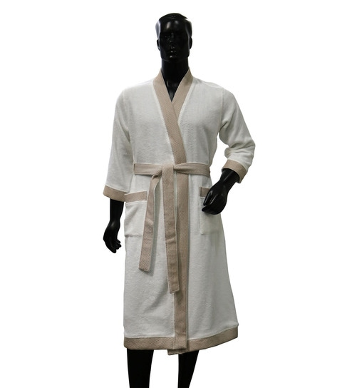 e45131bee8 Buy White 100% Cotton Hygro Extra Large Bathrobe by Spaces Online - Bath  Robes - Bath Robes - Carpets   Furnishing - Pepperfry Product