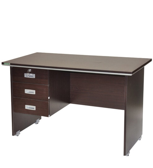 Integra Office Study Desk With Storage By Spacewood