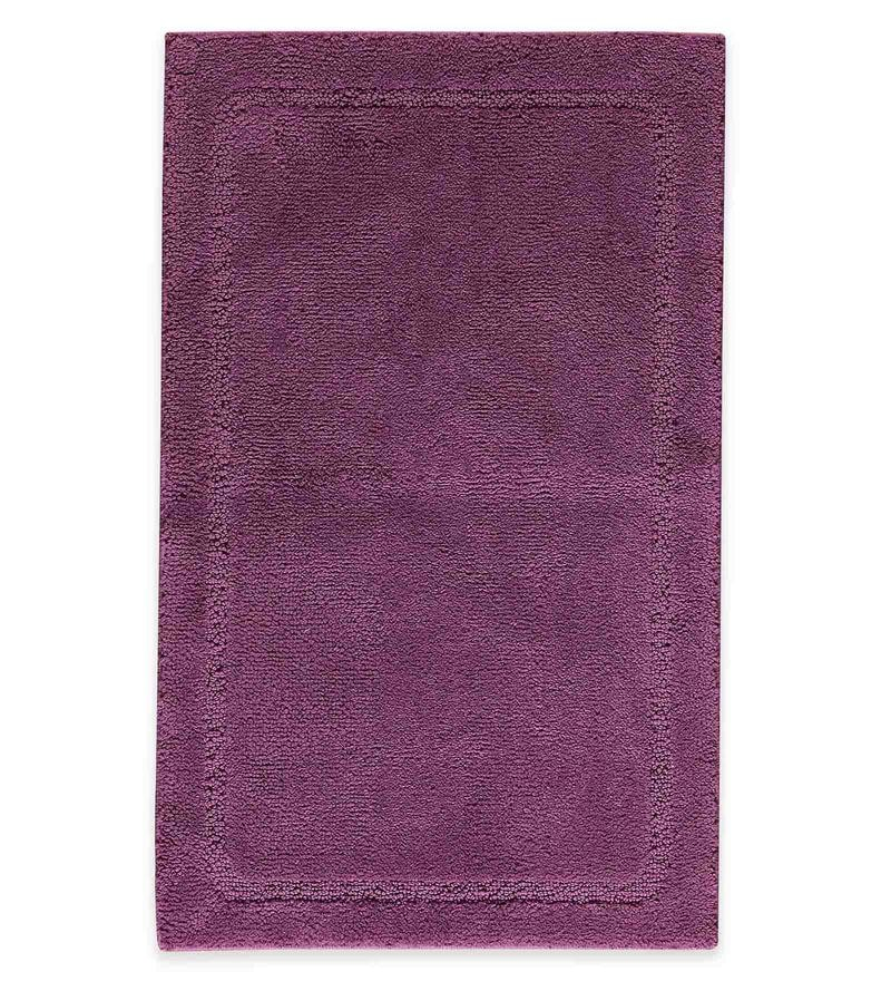 Spaces Amethyst 100% Cotton 20 x 31 Inch Elan Large Bath Mat
