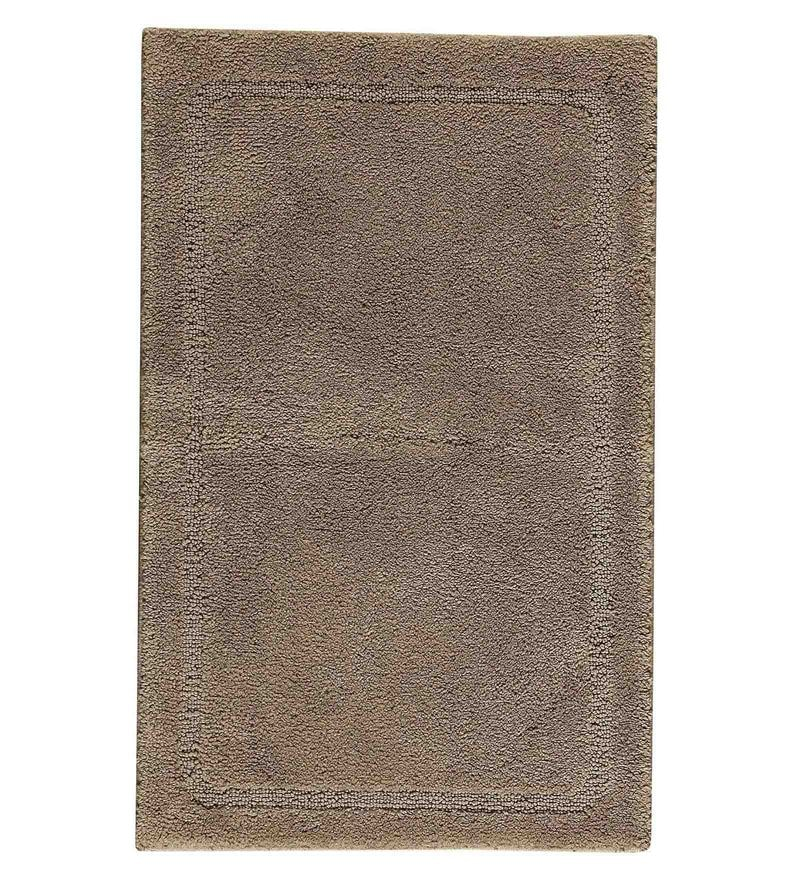 Spaces Brown 100% Cotton 20 x 31 Inch Elan Large Bath Mat