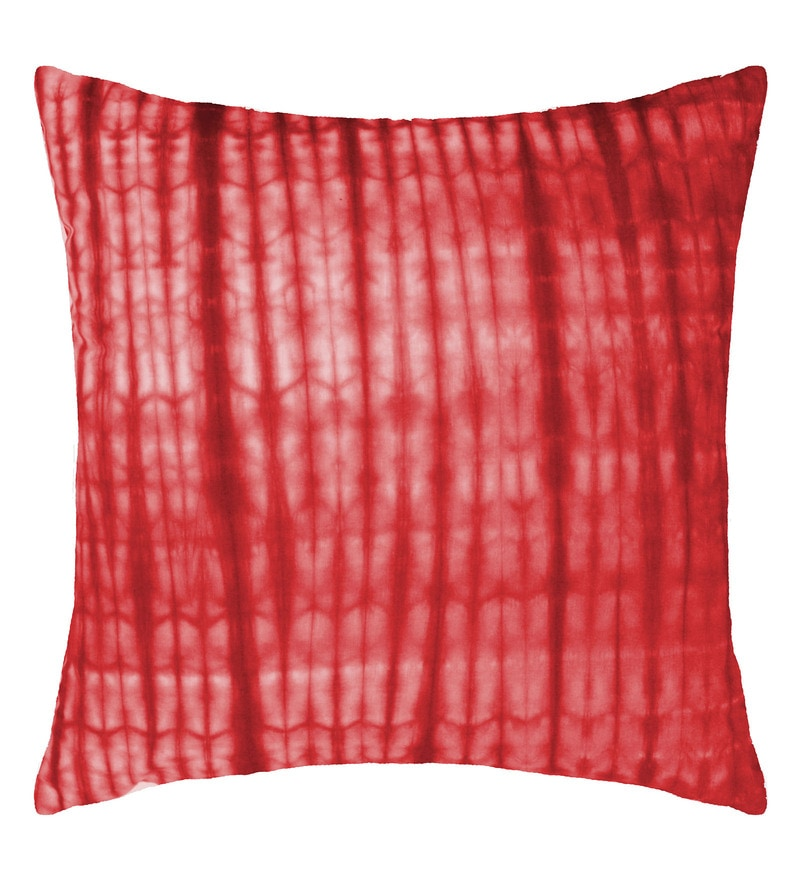 Spaces Cherry 100% Cotton 16 x 16 Inch Spun Terra Cushion Cover