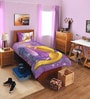 SPACES Disney Rapunzel Lavender Single Bedsheet with 1 Pillow Cover