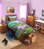 SPACES Disney Sophia Green Single Bedsheet with 1 Pillow Cover