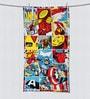 Marvel Comics Multicolour Bath Towel by Spaces