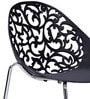 Spectrum Visitor Chair in Black Colour by Stellar