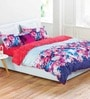 Flower Pattern Multicolour 100% Cotton Double Dovet Cover by Esprit Home