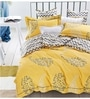 Multicolour 100% Cotton King Size Bedsheet - Set of 3 by Spread