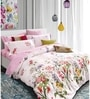 Spread Multicolour 100% Cotton Queen Size Bedsheet - Set of 3