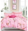 Pink 100% Cotton King Size Bedsheet - Set of 3 by Spread