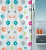 Multicolour Polyester Shower Curtain by Spirella