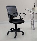 Square Mesh Black Ergonomic Chair