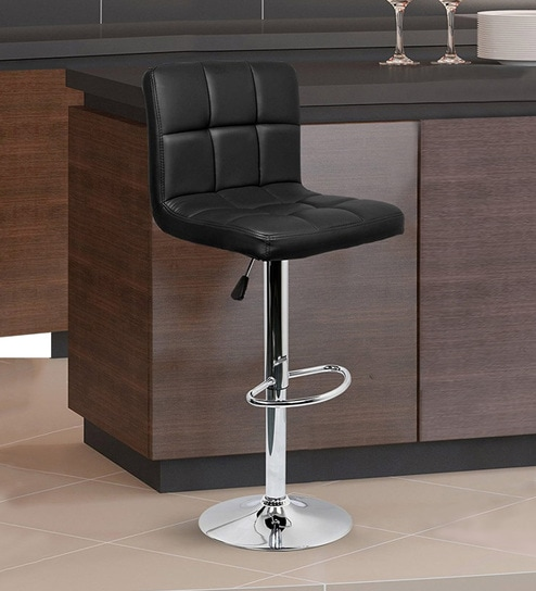 Sensational Square Swivel Bar Chair With Adjustable Height In Black By Workspace Interio Uwap Interior Chair Design Uwaporg