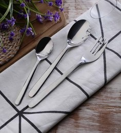 SS Silverware Serving Stainless Steel Cutlery Sets Set Of 20