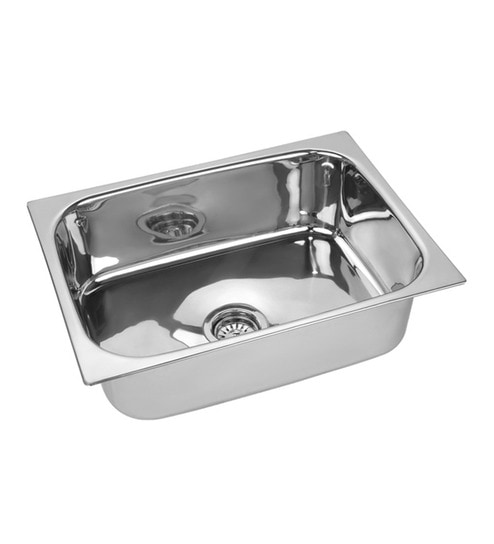 Amazing SS Silverware Stainless Steel Single Bowl Kitchen Sink   SS SIN K