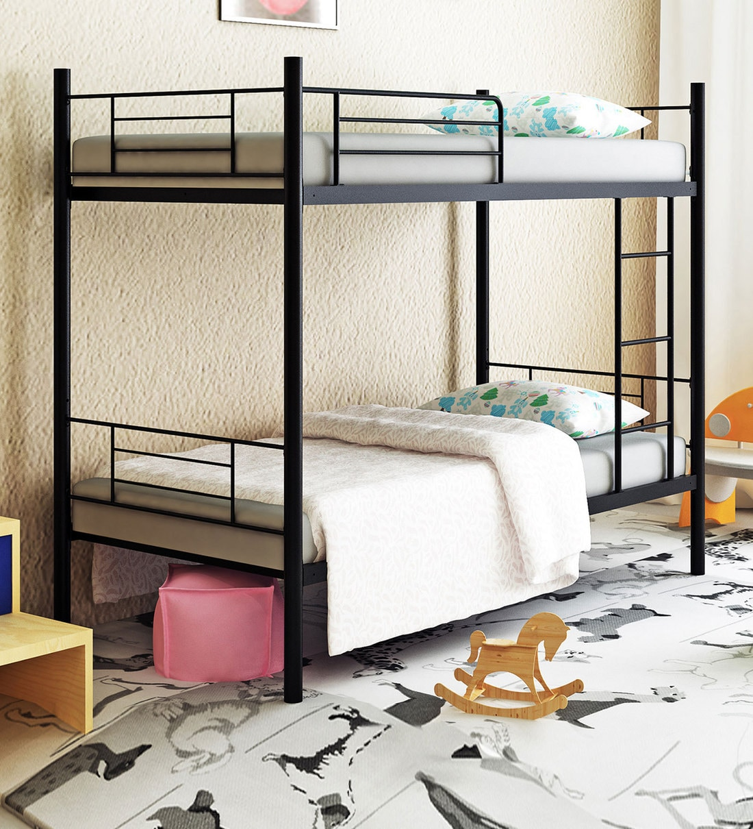 Picture of: Buy Stooreys Modern Bunk Bed By Camabeds Online Standard Bunk Beds Bunk Beds Kids Furniture Pepperfry Product