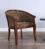 Stalley Arm Chair in Honey Oak Finish