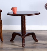 Stalley High End Table in Honey Oak Finish