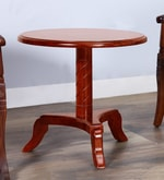 Stalley Solid Wood High End Table in Honey Oak Finish