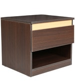 Stylo Night Stand in Wenge Colour