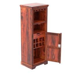 Stanfield Solid Wood Bar Unit In Honey Oak Finish