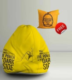 Star Wars Dark Side Digital Printed Bean Bag XXL Filled With Beans - 1590382