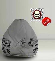 Star Wars Dark Side Digital Printed Bean Bag XXL Filled With Beans