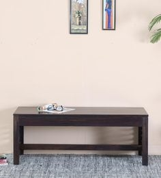 Stigen Bench In Warm Chestnut Finish