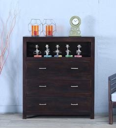 Stigen Chest Of Drawer In Warm Chestnut Finish - 1605314