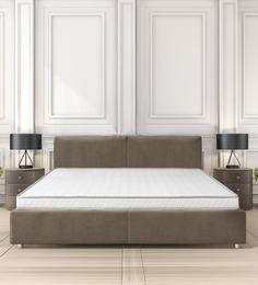 Buy Stratus King Bed 78x72x4 Inch Coir Mattress By Clouddio Online
