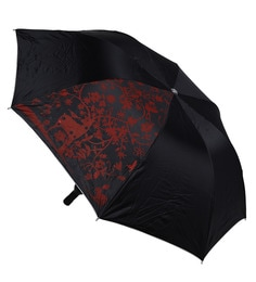 Stybuzz Floral Polyester Black Wine Bottle Umbrella