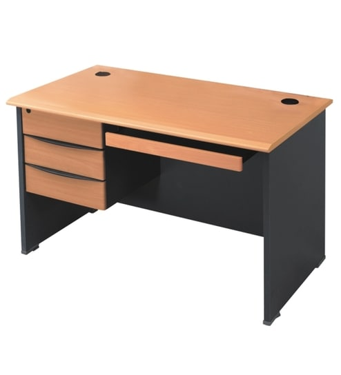 Stellar Office Table With Fixed Storage