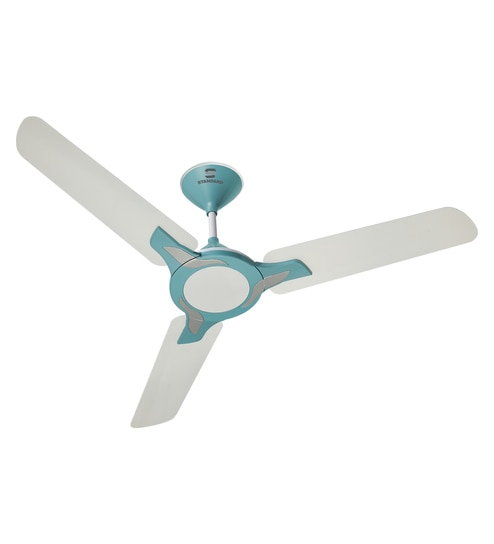 Buy havells standard leafer 1200 mm pearl white baby blue ceiling havells standard leafer 1200 mm pearl white baby blue ceiling fan mozeypictures Images