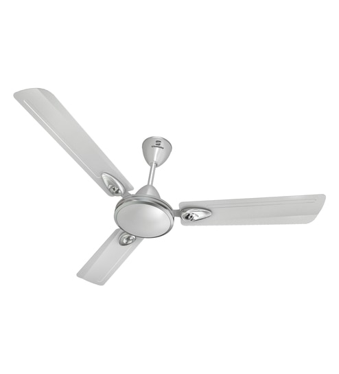 Havells Standard Rover 1200 Mm Silver Ceiling Fan With Free Rs 400 Bulb