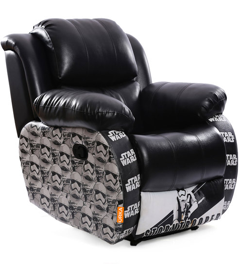 Cool Star Wars Storm Trooper Leatherette Recliner By Orka Creativecarmelina Interior Chair Design Creativecarmelinacom