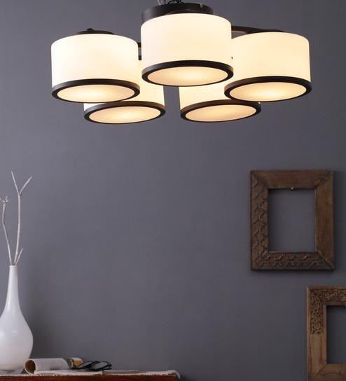 Steel Chandeliers Brown By Learc Designer Lighting