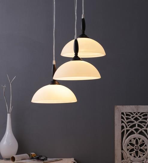 Steel Hanging Light Brown By Learc Designer Lighting
