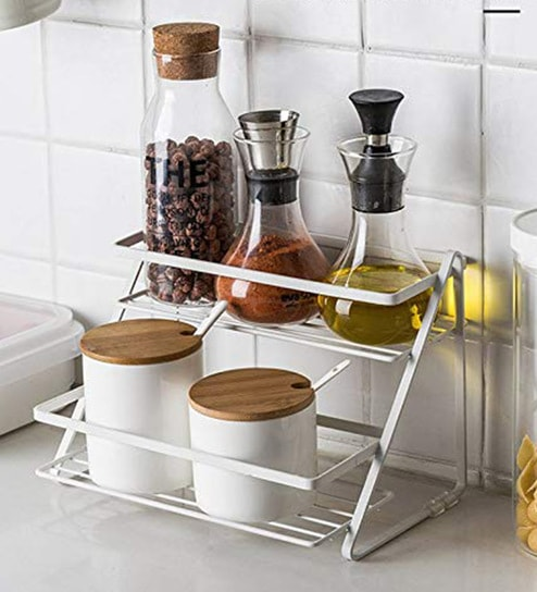 Stainless Steel Kitchen Storage Rack 11 X 7 2 Inches By Jvs