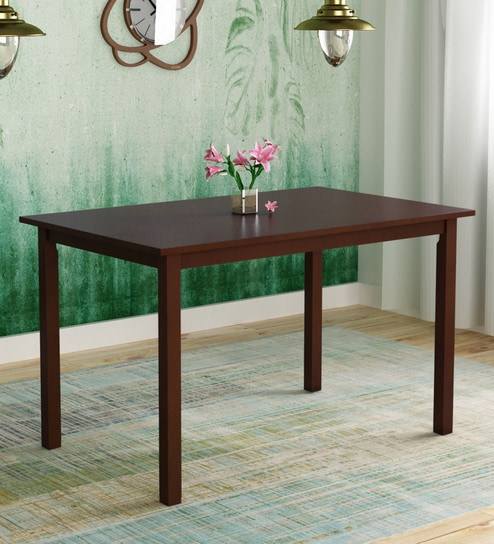 Miraculous Stella 6 Seater Dining Table In Dark Walnut Finish By Hometown Best Image Libraries Thycampuscom