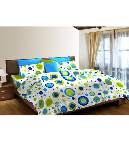 Superbe Stellar Home USA Blockbuster Queen Size Double Bed Sheet Set