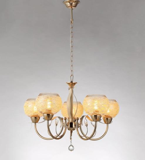 Buy beige and brown metal and crystal chandelier by stello online beige and brown metal and crystal chandelier by stello aloadofball Images