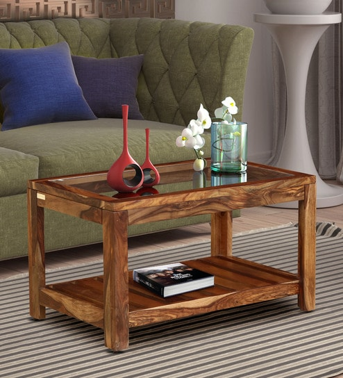 Sensational Stigen Solid Wood Coffee Table In Rustic Teak Finish By Woodsworth Spiritservingveterans Wood Chair Design Ideas Spiritservingveteransorg
