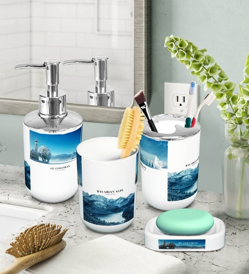 Counter Top Bathroom Accessories