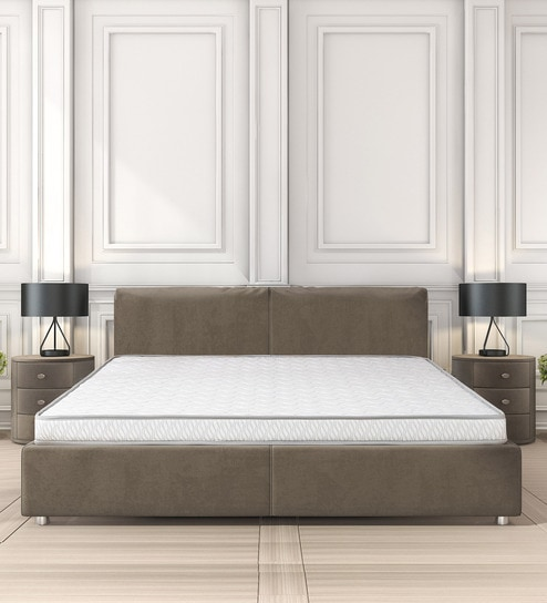 Queen Bed.Stratus Queen Bed 78x60x5 Inch Coir Mattress By Clouddio